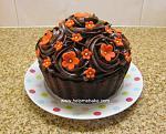 Giant Choc Cupcake