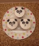 Panda Cupcakes (Small)