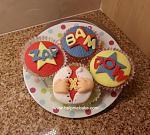 Super Hero Cupcakes HMB 1