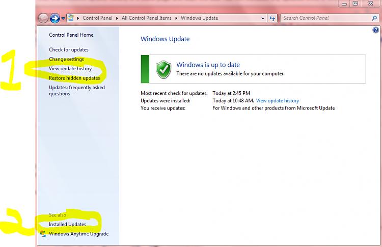 Windows Update History Empty After WindowsImageBackup Restored-installedupdates.png