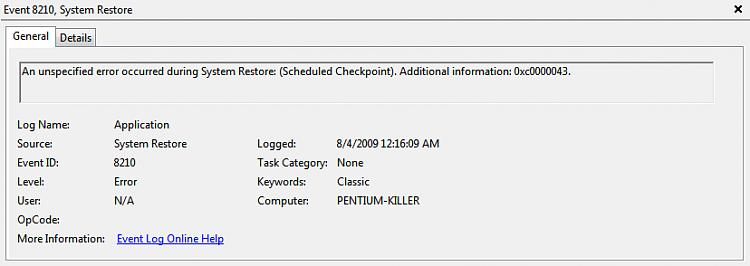 Constant System Restore Error - Windows 7 Ultimate RTM-8_4_2009-12_16_09-am.png