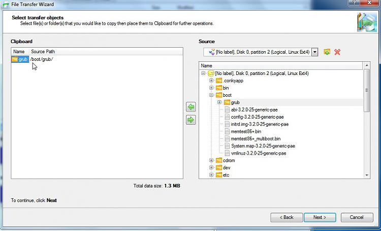 Windows/Linux dual-boot imaging using Macrium - Windows 7