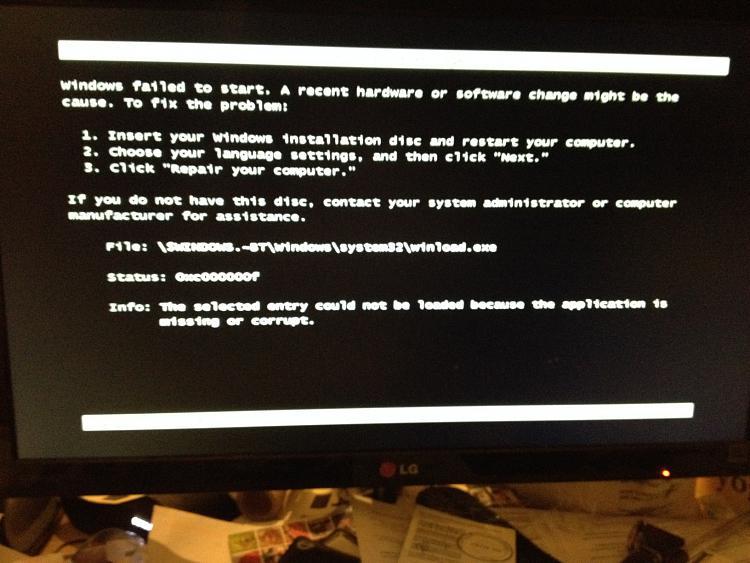 Win 7 downgrade gone wrong-img_0777.jpg