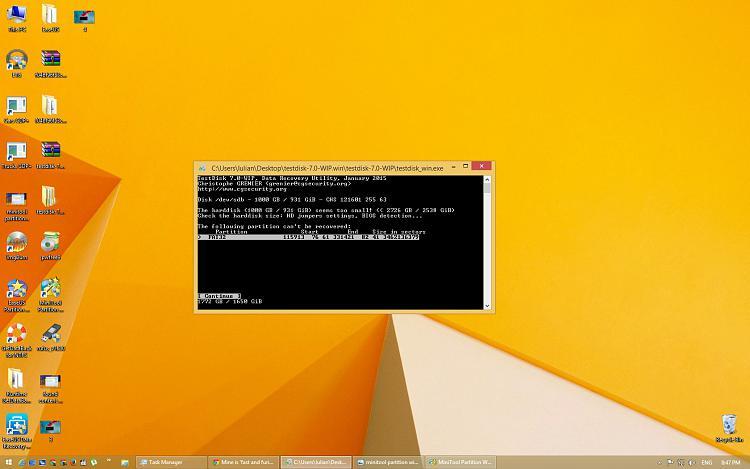 Deleted HDD files using diskpart command-testdisk-1.jpg