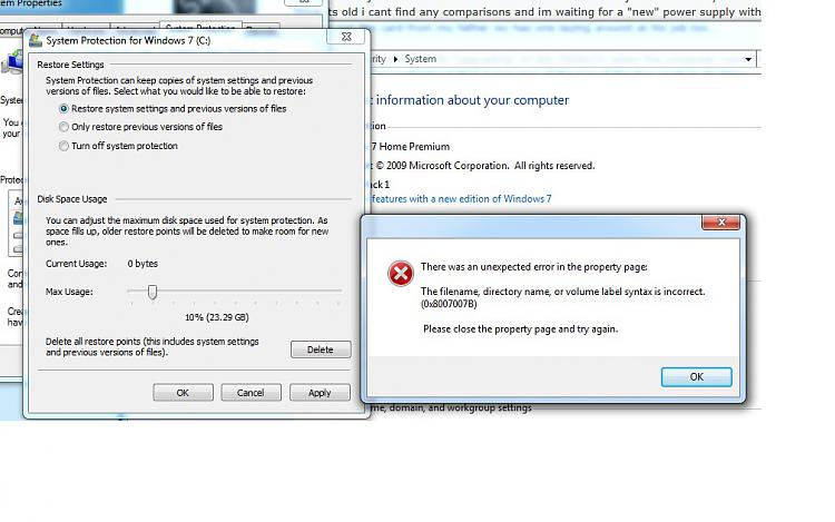 Can not set up system restore-error.jpg