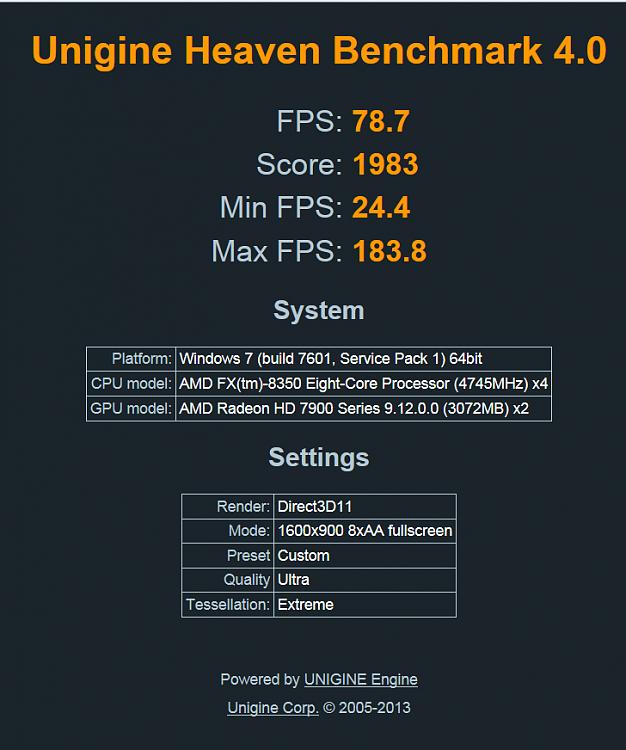 Heaven Benchmark Pro Rapidshare Premium - fulost