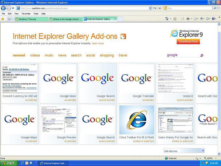 Where is the Google choice?-google.jpg