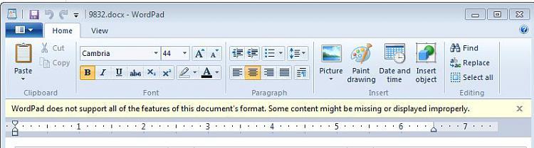 Why do people prefer IE8?-wordpad.jpg