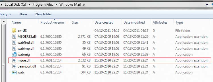 Windows Mail mshtml.dll crash-winmail-base64.png