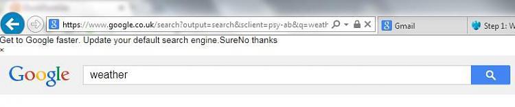 "IE 11 displays ""Get to Google faster. Update""... WHEN instant DISABLED-strangeie11.jpg"