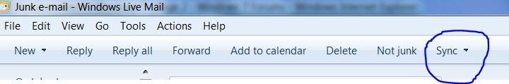 Windows Mail in Windows 7-sync.jpg