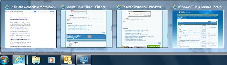 Hovering time over IE 10 thumbnails-taskbar.png