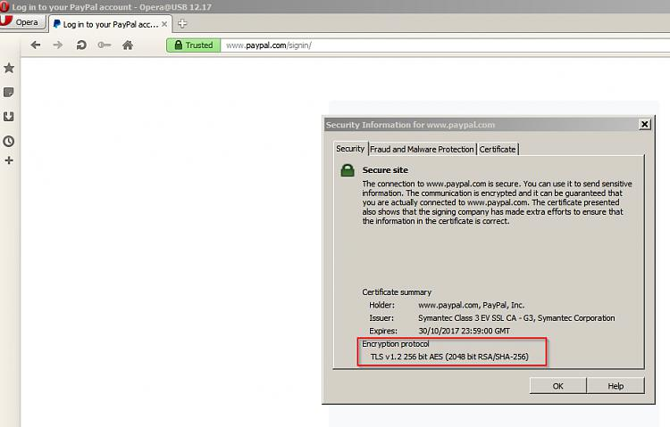 "Paypal login returns ""obsolete cipher suite"" error then freezes-paypal-1.jpg"