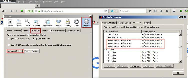 Firefox update has caused a problem-certsl.jpg
