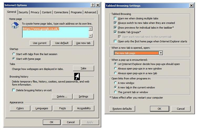 IE11 tabs problem - Windows 7 Help Forums