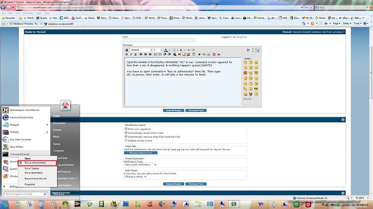 Uninstall windows mail from windows 7-run-admin.jpg