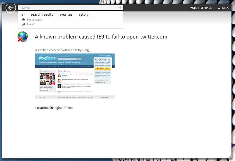 Leaked IE9 Screenshots-ie9.png