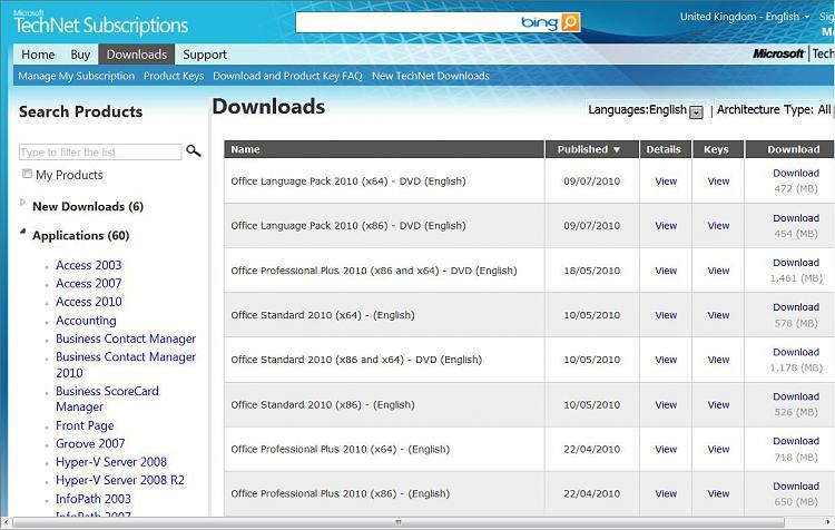 Technet Subscription NOT include MS Office 2010?-technet_office_2010.jpg