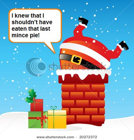 Merry Christmas everyone-santastuckchimney.png