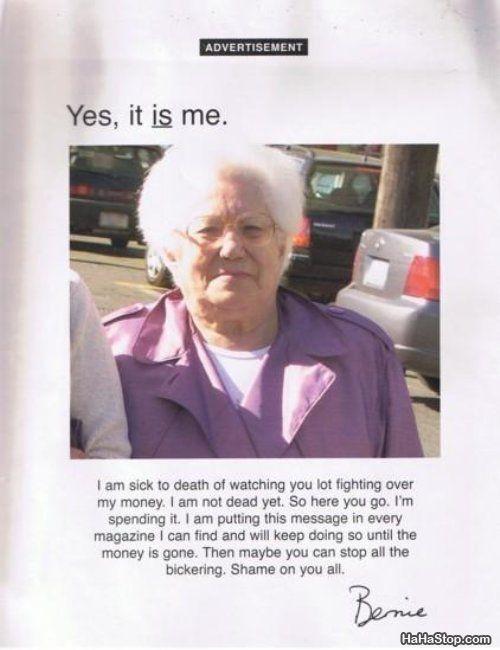 Funny and Geeky Cool Pics-grandmas_money.jpg