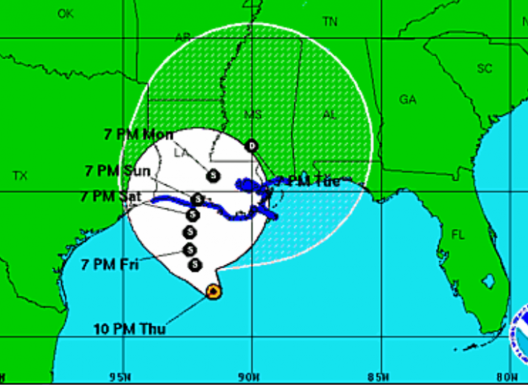 Disturbance in Gulf of Mexico-la-storm.png