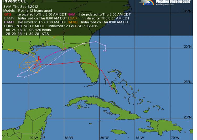 Hurricane Tracking 2012-isaac-returns.png