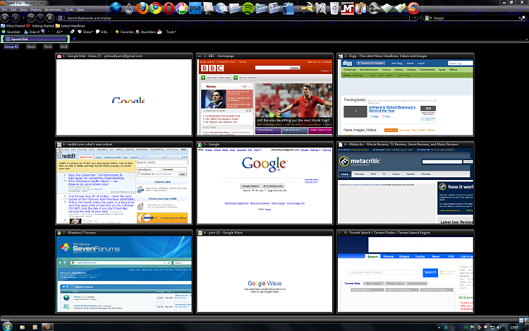 Rate my Browser/Windows 7 taskbar setup!-ff-homepage18.11.09.png