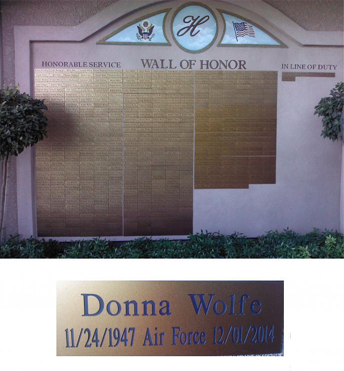 In Honor of our Veterans-donnas-vet-wall.jpg