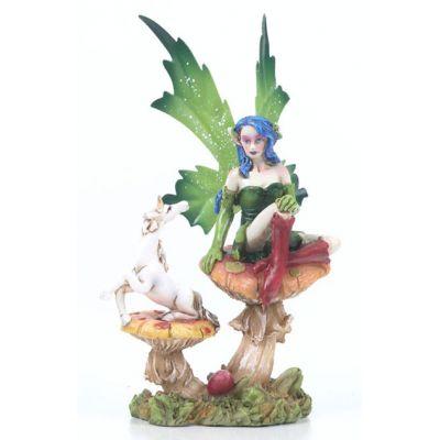 Gone hunting no joke-fantasy-fairy-mushroom-unicorn-green-wings.jpg