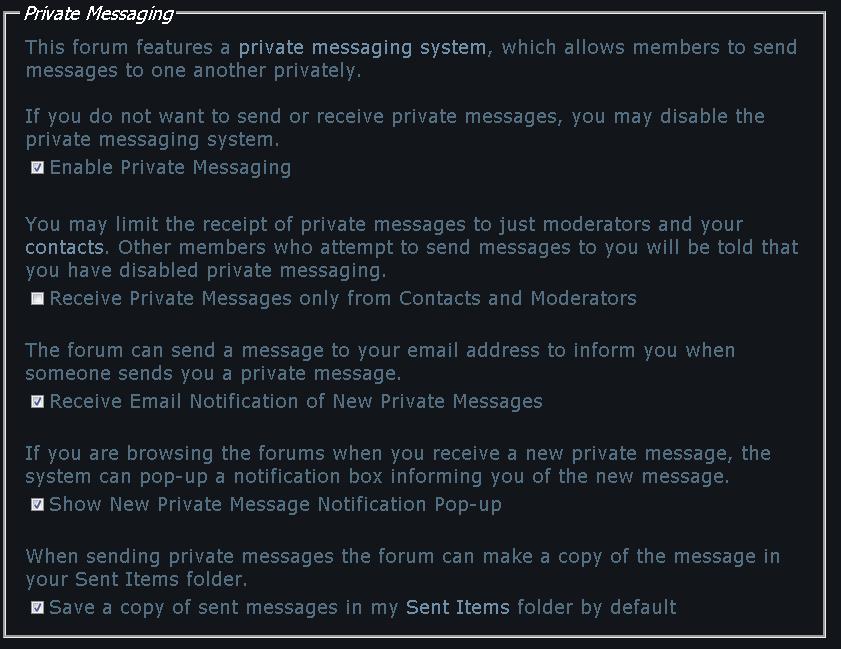 Seven Forums Notifications