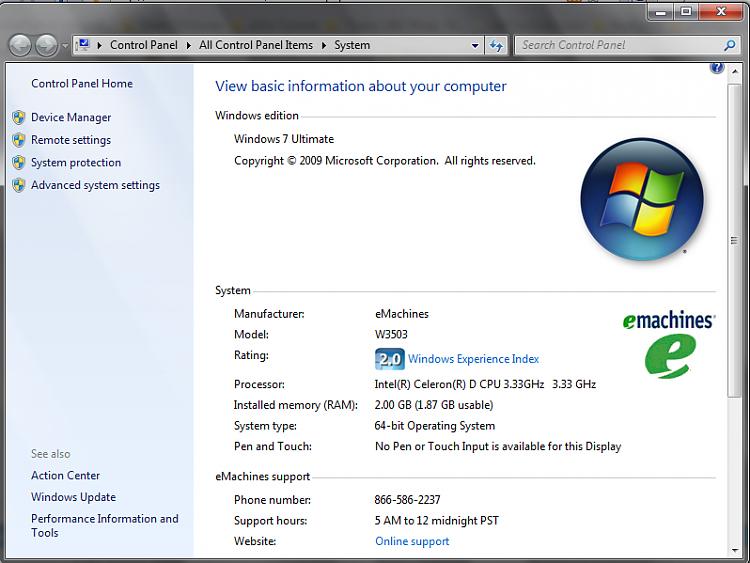 add oem logo to windows 7 system properties