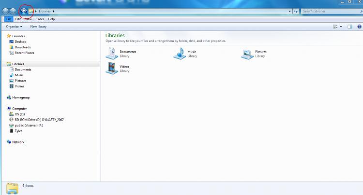 Windows Explorer Up to parent folder button-capture.png