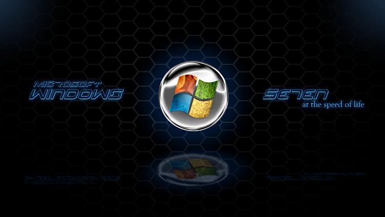 Custom Windows 7 Wallpapers - The Continuing Saga-honeycomb-se7en-chrome.png
