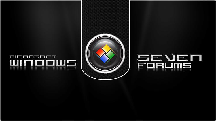 Custom Windows 7 Wallpapers - The Continuing Saga-dark-metal-grid-seven-forums.png