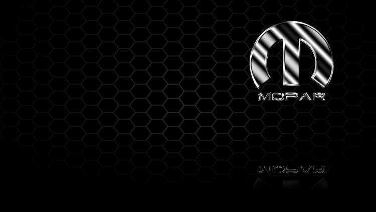 Custom Windows 7 Wallpapers - The Continuing Saga-metal-mopar-honeycomb.png