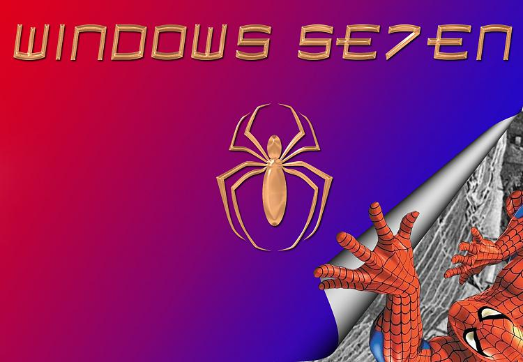 Custom Windows 7 Wallpapers - The Continuing Saga-spidey.jpg