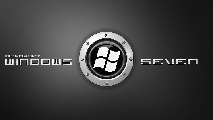 Custom Windows 7 Wallpapers - The Continuing Saga-seven-metal-black-logo.png