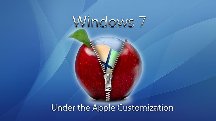 Custom Windows 7 Wallpapers - The Continuing Saga-apple-zip-windows.jpg