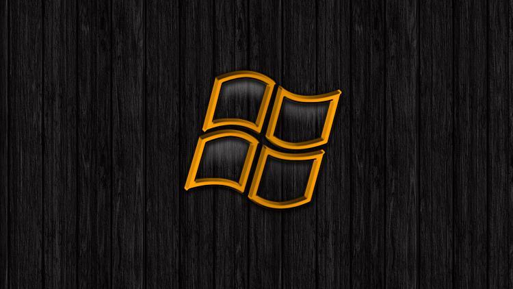 Custom Windows 7 Wallpapers - The Continuing Saga-wooden-logo.jpg