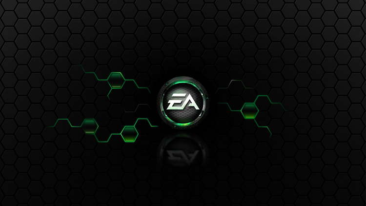 Custom Made Wallpapers-ea-games-wall_green.png