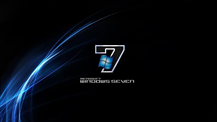 Custom Windows 7 Wallpapers - The Continuing Saga-black-n-blue-windows-7.png