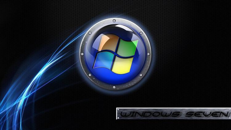 Custom Windows 7 Wallpapers - The Continuing Saga-dark-metal-grid-blue-glow.jpg