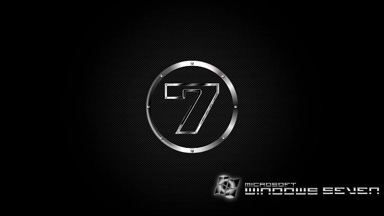 Custom Windows 7 Wallpapers - The Continuing Saga-se7en-carbon-steel-logo.png