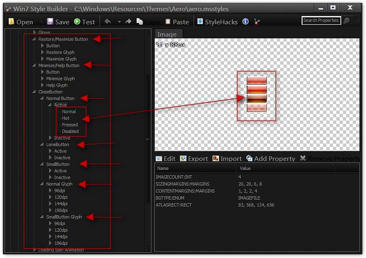 Windows Aero - White Shade to the left and right - Remove-win7-style-builder-cwindowsresourcesthemesaeroaero.msstyles.png
