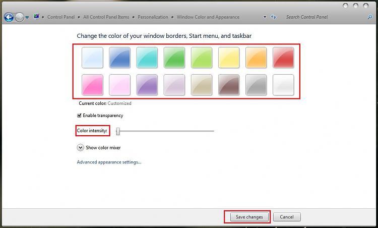 How do I change the color of this taskbar-capture1.jpg