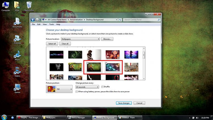 Unable to create desktop slideshow-1.jpg
