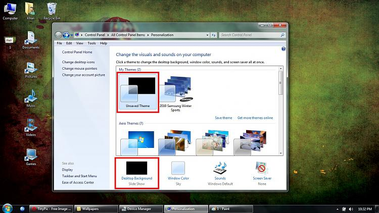 Unable to create desktop slideshow-2.jpg