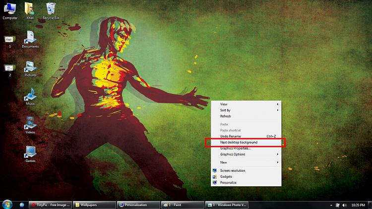 Unable to create desktop slideshow-3.jpg