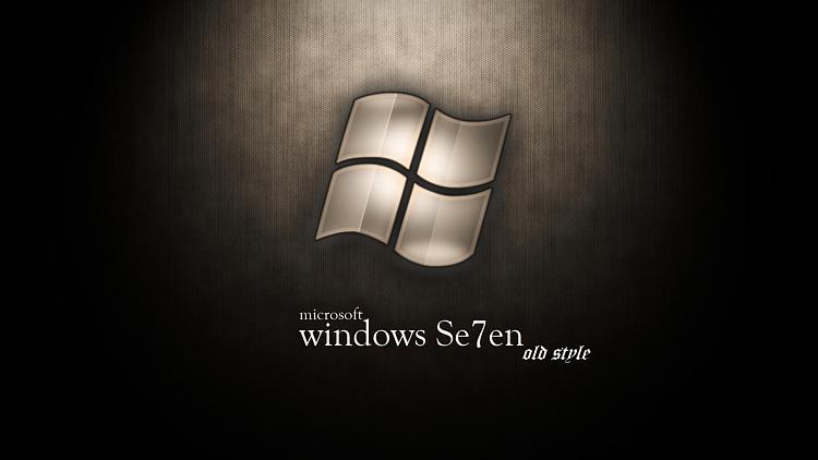Custom Windows 7 Wallpapers - The Continuing Saga-se7en-old-styles.jpg