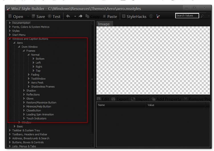Custom Image for Windows Borders, Taskbar, and Start Menu? 7 Ult. x64-win7-style-builder-cwindowsresourcesthemesaeroaero.msstyles.png